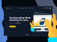 Ready for new STUNNING Web hosting template?