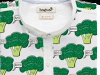 haguaii shirt - broccoli