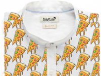 haguaii- pizza all over your shirt