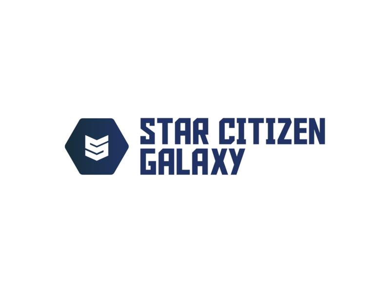 Star Citizen Galaxy | Logo design videogame api branding logo