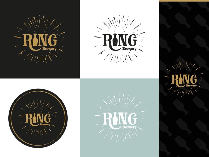 Ring Brewery | Logo design print design brewery logo brewery beer branding logo