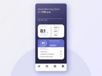 Sleep Tracker App - UI Practice