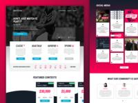 Draftstars - Landing Page