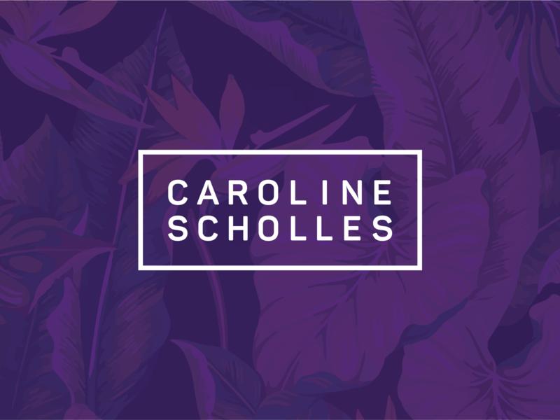 Caroline Scholles Brand copywriter personal brand brand logo