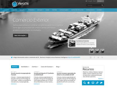 New Veratis Website [first draft]