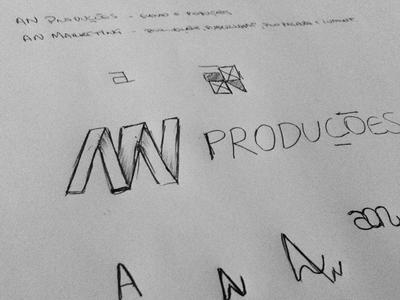 AN Produções, logo draft