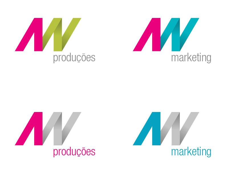 AN Produções, logo draf v3 logo branding
