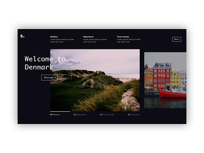 Website Exploration #2 dark ui ui design web design website web