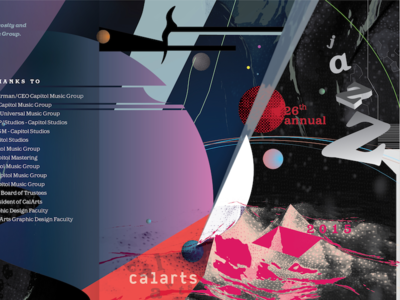 CalArts 26th Annual Jazz Album — Space