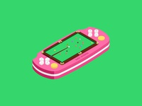 hello dribbble-Sloc in the PSP