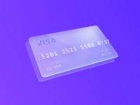 Credit Card ( Daily UI :: 002 )