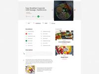 Food/Recipe Website