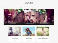Esquise Magazine WordPress Theme