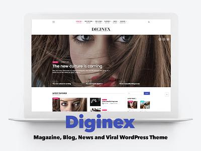 Diginex - Magazine, Blog, News and Viral WordPress Theme mood lifestyle fashion blog newspaper news viral magazine