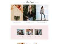 Seaford WordPress Theme - Fashionist Blog Version