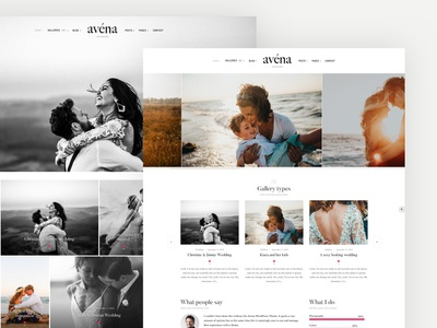 Avena Photography touchsize galleries gallery photography websote web design videography photography theme photography avena wordpress themes wordpress theme