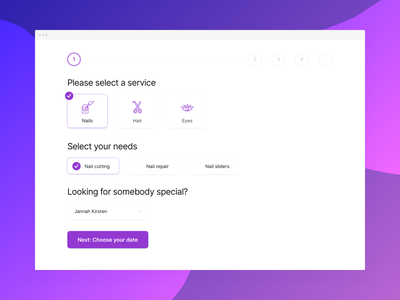 Salon Booking System saas preference hair nails beauty bookings booking system touchsize ux ui booking app salon app booking salon
