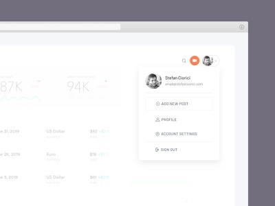 Profile Box video upload uploads saas settings form profile upload login form modal login