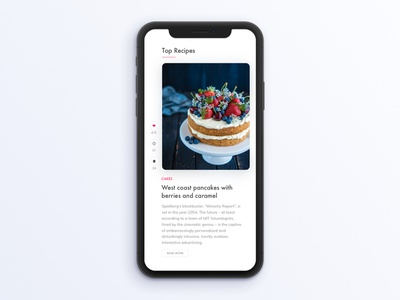 Food Recipe App recipe cake interaction ux ui app food recipe card recipes recipe book recipe app