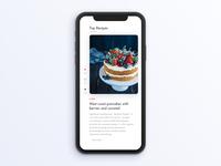 Food Recipe App