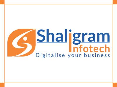 """'Shaligram Infotech"""" Logo"""