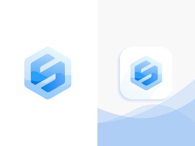 Letter S Logo Design Concept icon concept flat logo app vector branding illustration design