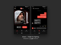 Brawlapp | Tinder but for fighting