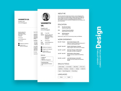 Cover Letter and CV design