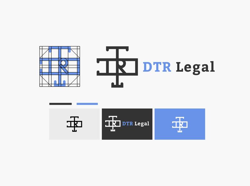 Legal Consultant Logo Design corporate classic contrast logo branding illustration design