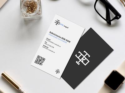 Business Card Design businesscard typography vector branding illustration design