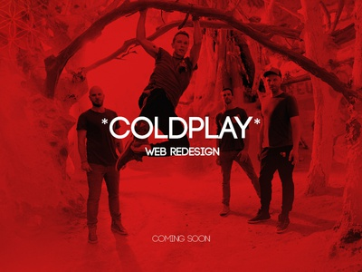 Coldplay Website Concept_ coming soon
