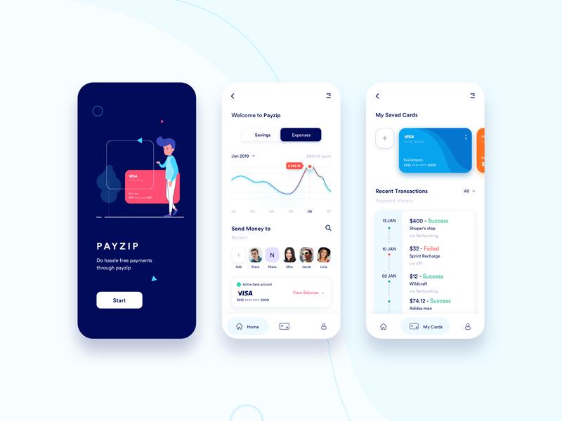 P A Y Z I P - A Payment App 💲