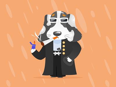 alien8 dog avatar alien game art design illustration