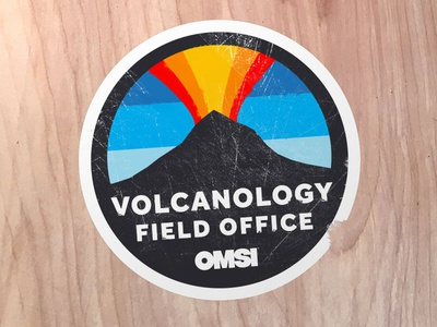 Volcanology Field Office Badge