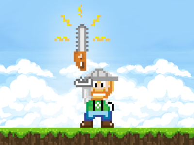 Timber Joey Video Game Sprite