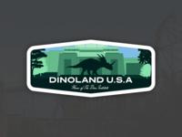 Animal Kingdom Badge – Dinoland U.S.A.