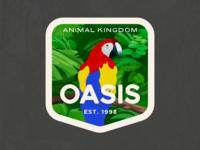Animal Kingdom Badge – Oasis