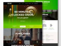 Escape Games PDX Website