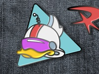 DuckTales Gizmoduck Pin
