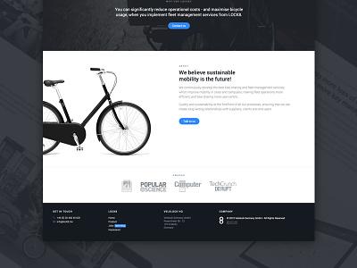 LOCK8 Landing Page fms hardware lock product jobs lock8 page landing web bicycle