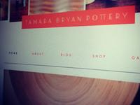 Tamara Bryan Pottery