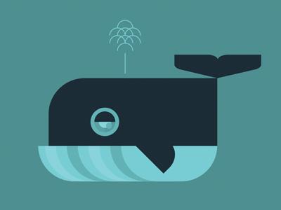 Whale, version 2 whales illustration childrens illustration animals sea life