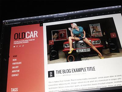 Oldcar WordPress Theme wp blogging wordpress theme