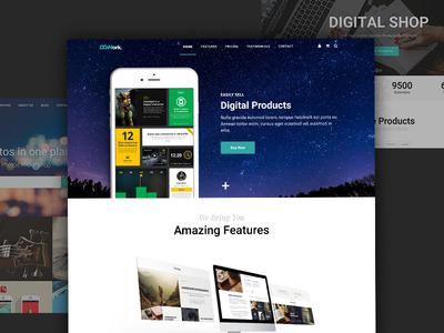 DGWork - Business Theme For Easy Digital Downloads edd easy digital downloads theme wordpress