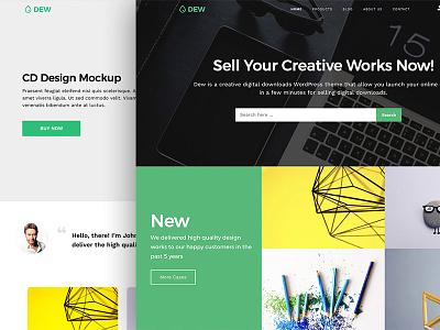 Dew WordPress Theme theme wordpress wordpress theme