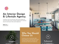 An Interior Design Web Design