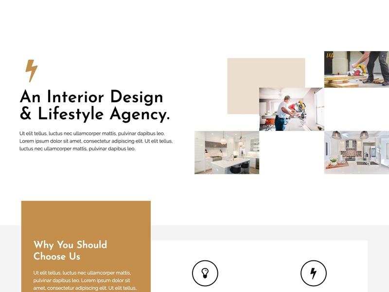 An Interior Design Web Design web design