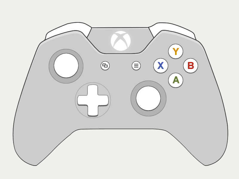 Scribble Drawing Xbox One : Xbox one controller drawing pixshark images
