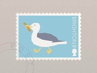 Brighton Stamp stamp