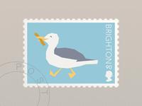 Brighton Stamp
